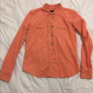 American Eagle Corduroy Button-Up